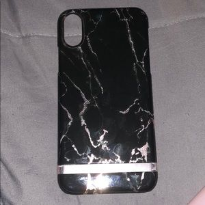 IPhone X Black marble
